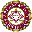 Logo Recognizing Ross & Shoalmire, P.L.L.C.'s affiliation with Arkansas Bar Association